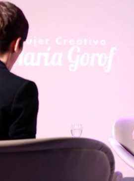 Mujeres Creativas - María Gorof