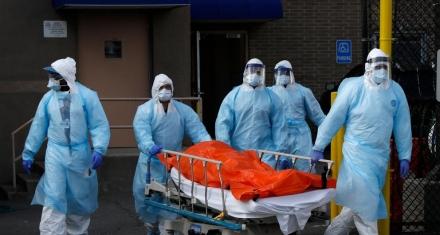 Nueva York: Los hospitales tienen stock de respirados sólo para seis días