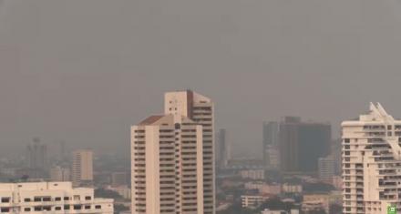 En Bangkok combaten la contaminación del aire con lluvia artificial