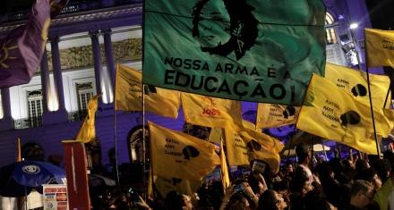 Brasil: Reclamo de justicia en el aniversario del asesinato de Marielle Franco