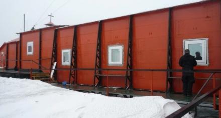 Base Marambio: Avazan las mejoras en la asilación térmica