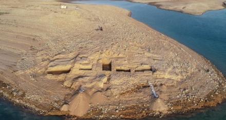 Irak: Un palacio de 3.400 años emergió de las aguas