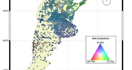 Argentina: Científicos desarrollaron un mapa de riesgo de infección por parásitos