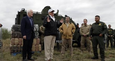 Trump viaja a la frontera con México y amenaza con declarar emergencia nacional