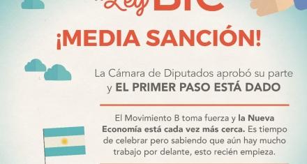 Argentina: Media sanción para la Ley BIC