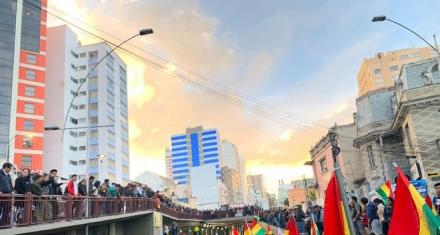 ONU Derechos Humanos inició el dialogo en Bolivia
