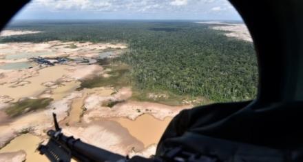 Perú: Una operación contra la minería luchara contra la deforestación en la amazonía