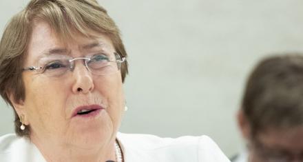 Bachelet aconseja al Gobierno de Guatemala a garantizar las libertades democráticas