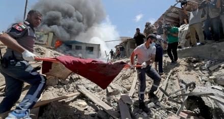 """""""Israel está bombardeando de forma intensiva zonas residenciales"""": agencia de la ONU"""