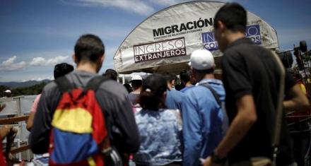 Ante la jura de Nicolás Maduro el éxodo venezolano se acelera