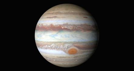Júpiter y el misterio de la gran mancha roja en su atmósfera