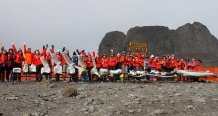 Científicas viajan a la Antártida para visibilizar a la mujer dentro de la ciencia