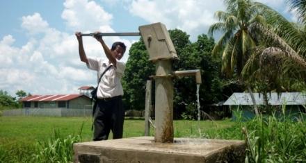 Aguas subterráneas del Amazonas contaminadas