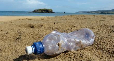"""Diseñan una enzima que se """"come"""" a las botellas plásticas"""