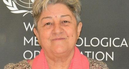 Primera mujer que preside una comisión de la OMM