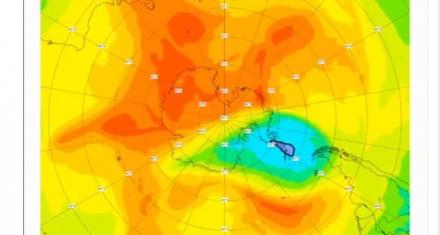 Copernicus anuncia que el cierre del agujero de ozono de 2019 será antes de lo previsto