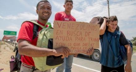 La crisis migratoria venezolana impacta en la economía de los demás países de América Latina