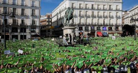 En Madrid miles de personas en contra de las Becerradas