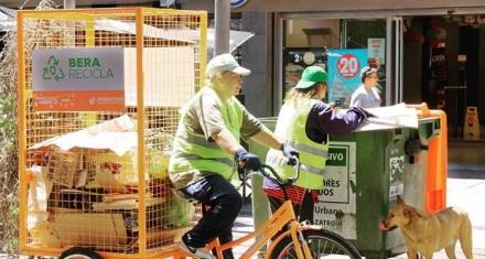 Argentina: Se implementaron las bicicletas recicladoras para los cartoneros en una ciudad del conurbano Bonaerense