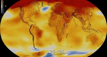 Video de la NASA muestra cómo se ha calentado el planeta desde 1880
