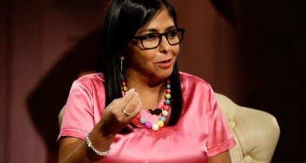 La Unión Europea sancionó a la vicepresidente de Venezuela