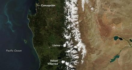 Se está derritiendo la nieve en la Cordillera de los Andes