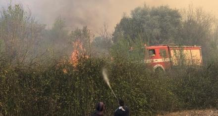 Argentina: El fuego no da tregua en los incendios de Córdoba