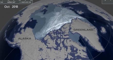 Está desapareciendo el hielo marino más antiguo y grueso del Ártico