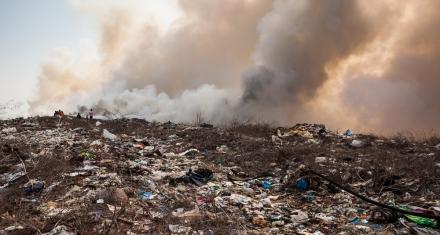 Es ley la quema de basura