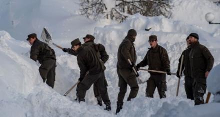 Austria: Gran parte del país paralizado por las intensas nevadas