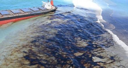 Isla Mauricio: Buques cisterna y helicópteros para frenar el vertido de petróleo