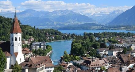 Está desapareciendo la nieve en Suiza, incluyendo los Alpes