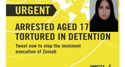 Irán: Mujer ejecutada por asesinar a su esposo que la maltrataba