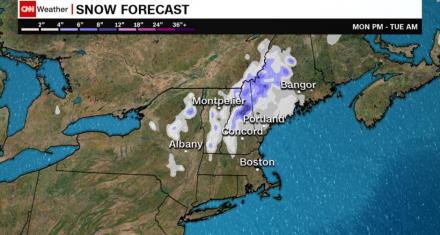 Estados Unidos se prepara para nevadas en pleno mes de Mayo