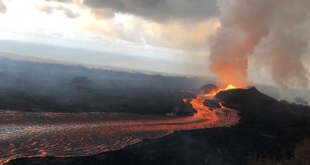 Cascading Events Led to 2018 Kilauea Volcanic Eruption, Providing Forecast Clues