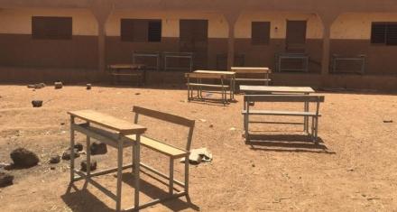 In Burkina Faso it's too dangerous to go to school