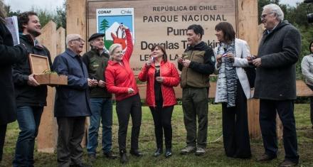 Chile recibe la mayor donación de tierras privadas de la historia