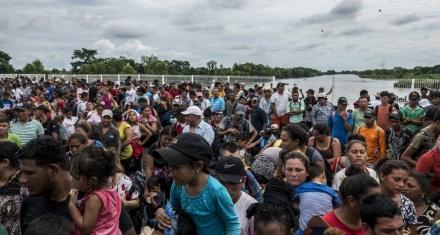 Nueva caravana que pone en guardia a Estados Unidos, México y Centroamérica
