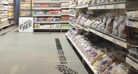 Primer supermercado con sección
