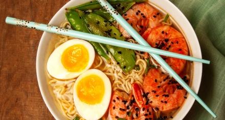 Student develops edible ramen noodles wrappers