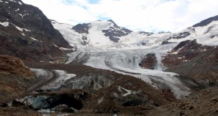 Microplásticos en un glaciar de los Alpes Italianos a 3 mil metros de altura