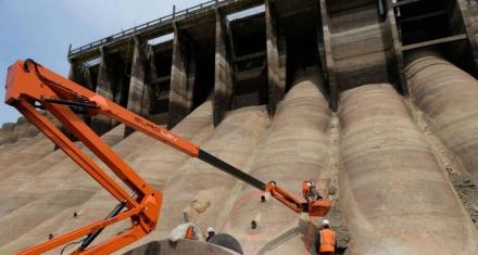 Desmantelan la presa más grande en la historia europea