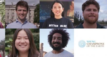 ONU premia a siete jóvenes por ayudar a restaurar y proteger el planeta