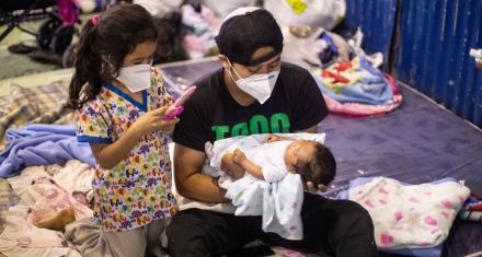 Los niños de Latinoamérica y el Caribe se enfrentan a una doble amenaza, el Covid-19 y los huracanes