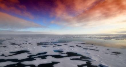 Ártico: Cae nieve con microplásticos