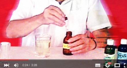Falsa receta circulando en YouTube para
