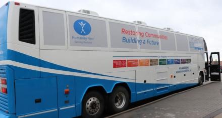 The Toronto's shelter bus for homeless