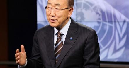Ban Ki-moon pide espacio y medios para los jóvenes contra la crisis climática