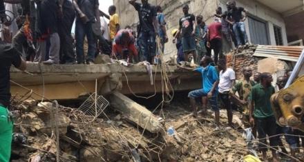 Nigeria school collapse