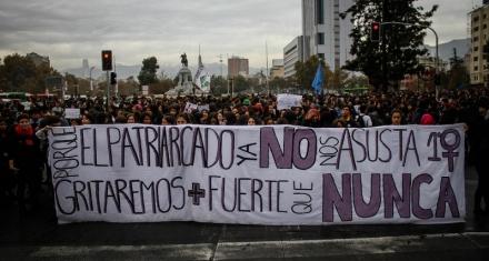 Chile: Marchas contra la violencia machista